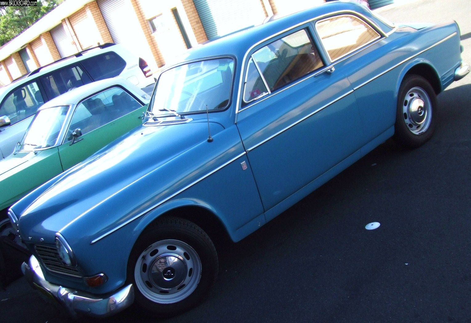 Volvo  -- 1970 122S, named, Betty Boop !